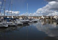 Marina de Solent de port Images stock