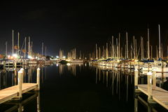 Marina de St Petersburg Image stock