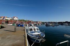 Marina de Styrso, Suède Photo stock