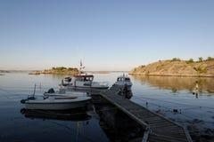 Marina de Styrso, Suède Photographie stock libre de droits