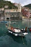 Marina de Vernazza Photos libres de droits