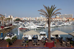 Marina de Vilamoura, Algarve Portugal Stock Photo