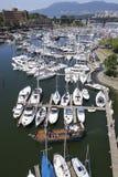Marina de ville de Vancouver Images stock