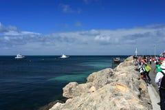 Marina de yachts, Australie occidentale Photo libre de droits