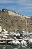 Marina del Este和发展 图库摄影