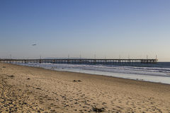 Marina Del Ray pier Royalty Free Stock Photography