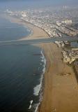 Marina del Rey海滩 免版税图库摄影