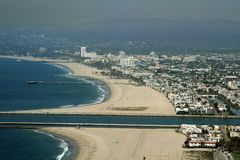 Marina del rey beach Stock Images