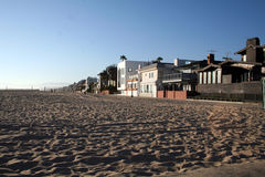 Marina del rey beach Royalty Free Stock Images