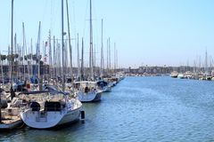 Marina del Rey California Images stock