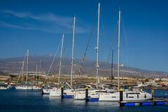 Marina del Sur, Las Galletas, Ténérife, Espagne Image libre de droits