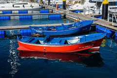 Marina del Sur, Las Galletas, Ténérife, Espagne Photos libres de droits