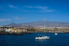 Marina del Sur, Las Galletas, Tenerife, España Fotografía de archivo libre de regalías