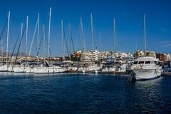 Marina del Sur, Las Galletas, Tenerife, España Foto de archivo libre de regalías