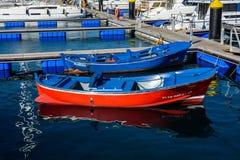 Marina del Sur, Las Galletas, Tenerife, España Fotos de archivo libres de regalías