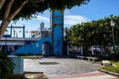 Marina del Sur Las Galletas Teneriffa Spanien lizenzfreies stockfoto