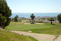 Marina Del Torre Golf Course Royalty Free Stock Images