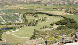 Marina Del Torre Golf Course Royalty Free Stock Photography
