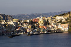 Marina della Corricella in Procida in Italy Royalty Free Stock Photos