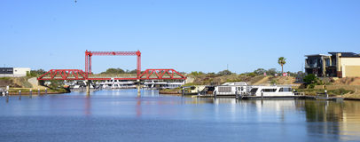 Marina Development at Mildura, Australia. Stock Photos