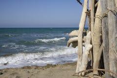 Marina di Alberese Lizenzfreie Stockbilder