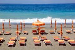 Marina di camerota beach, Italy Stock Photo