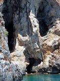 Marina di Camerota - Sausage Grotto Royalty Free Stock Image