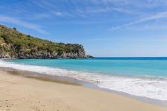 Marina di Camerota, Salerno, Italia fotografie stock libere da diritti