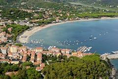Marina di Campo- Elba island Stock Images