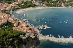 Marina di Campo- Elba island Royalty Free Stock Photography