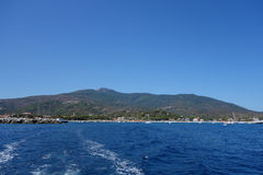 Marina di Campo in Elba Island Stock Photo