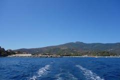 Marina di Campo in Elba Island Stock Photography