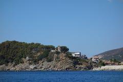 Marina di Campo in Elba Island Royalty Free Stock Images