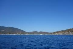 Marina di Campo in Elba Island Royalty Free Stock Image