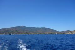 Marina di Campo in Elba Island Stock Photos