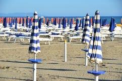 Marina di Grosetto, famous Italian resort Royalty Free Stock Photo