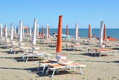 Marina di Grosetto, famous Italian resort Royalty Free Stock Images