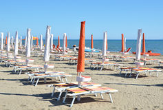 Marina di Grosetto, località di soggiorno italiana famosa immagini stock libere da diritti