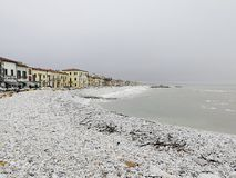 Marina di Pisa, Italien Region Toskana lizenzfreie stockbilder