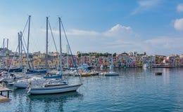Marina di Procida III lizenzfreie stockfotos