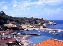 Marina di Puolo, Italien. stockfoto