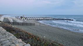 Marina Di San Nicola Beach Italy stock video footage