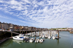 Marina of Dieppe, Normandy, France Stock Image