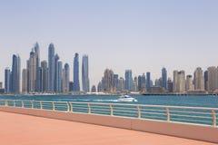 Marina district in Dubai Stock Image