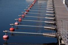 Marina docks Stock Photos
