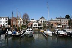 Marina of Dordrecht Royalty Free Stock Photo