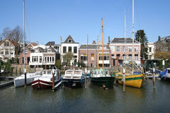Marina of Dordrecht, Holland Royalty Free Stock Images