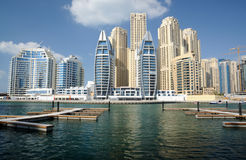 marina du Dubaï Photos stock