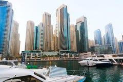 Marina Dubai stockfotografie