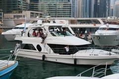 Marina Dubai stockfotos